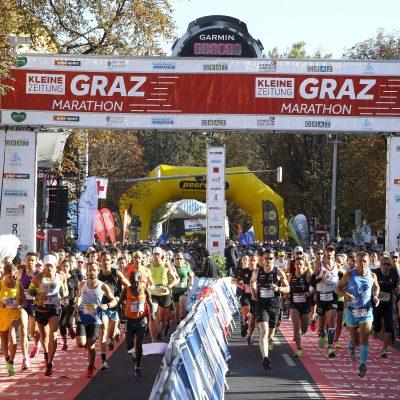 Graz Marathon Anmeldung vorübergehend ausgesetzt!