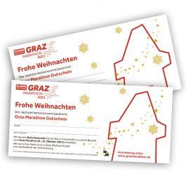 Mit dem Graz Marathon Gutschein Lauffreude schenken